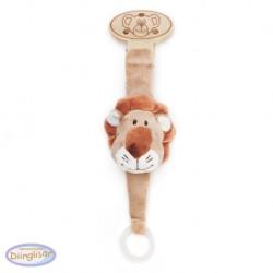 DIINGLISAR - Bamse med sutteholder, Løve