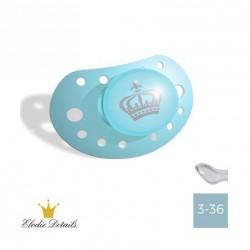 Elodie Details sut - 3-36,Petit Royal Blue,Anatomisk-Silikone