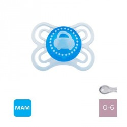 MAM PERFECT 0-6 M,Symmetrisk sut - Silikone