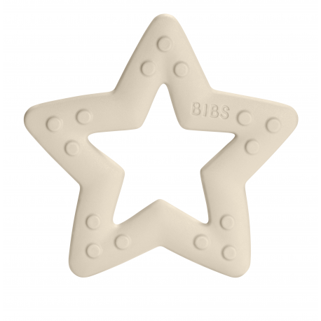 Bibs Baby Bitie,  Bidering, Star ,ivory