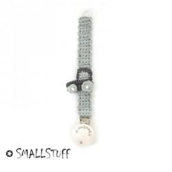 SMALLSTUFF - Håndhæklet  suttesnor, Fåes i flere modeller