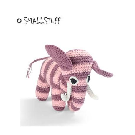 SMALLSTUFF - Hæklet Elefant