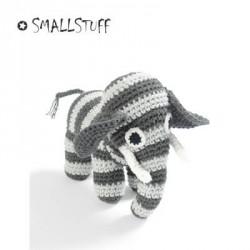 Smallstuff - Hæklet Elefant bamse