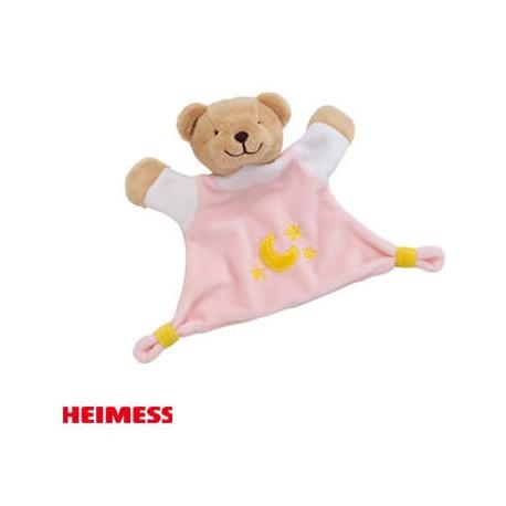 Image of Heimess, krammeklud, bamse - rose