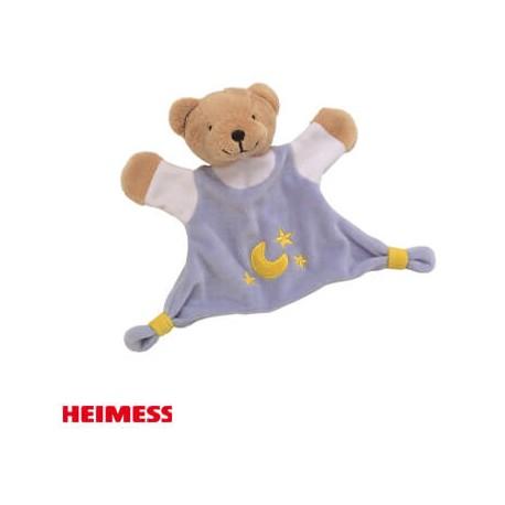 Image of Heimess, krammeklud, bamse - blå