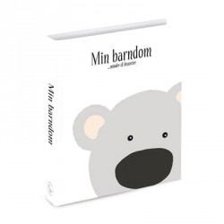 """FARMOR & KO - Barnets bog, """"Min barndom"""", Til både pige & dreng"""
