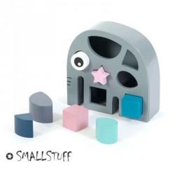 SMALLSTUFF, Put i kasse - legetøj, Elefant