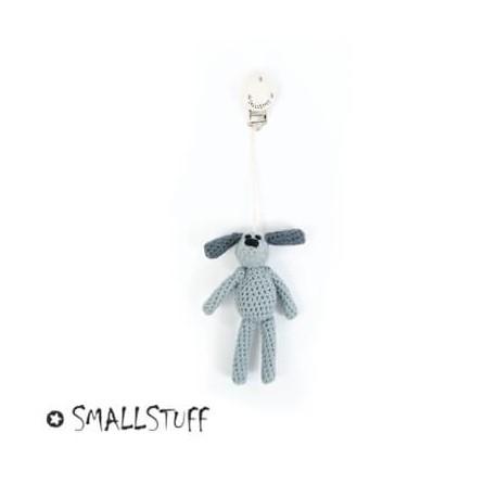 SMALLSTUFF, Barnevognsvedhæng, grå, hund