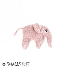 SMALLSTUFF, Strikket elefant rangle, Pudder