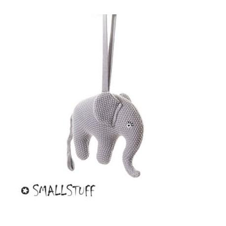 Smallstuff, musikuro, elefant, rosa