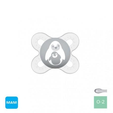 MAM Start 0-2, Symmetrisk - Silikone