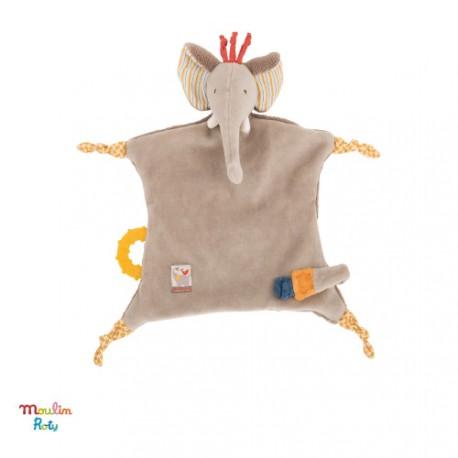 Image of Moulin roty, sutteklud, elefant