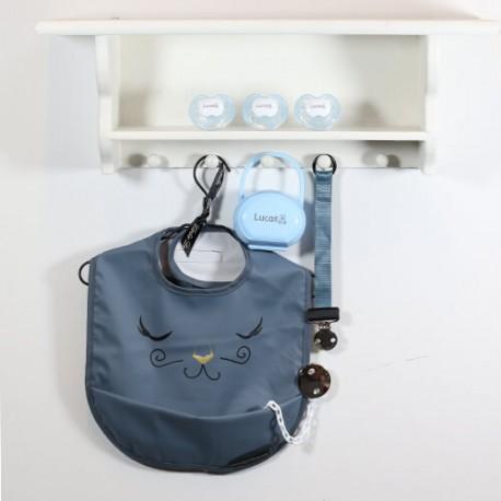 Gavepakke til den lille prins, Med hagesmæk fra Elodie Details, 0-6 måneder