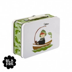 BLAFRE, Madkasse, Tin-kuffert, Fisker