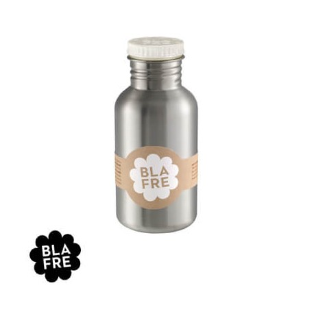 Image of   Blafre, stålflaske, 500 ml., hvid