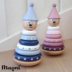 MAGNI, Magnet stabel tårn, Findes i flere farver