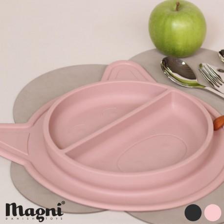 Image of Magni, tallerken/dækkeserviet, silikone, findes i flere farver