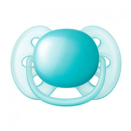 PHILIPS AVENT Ultra Soft, Str. 2. (6-18 mdr.) , Symmetrisk - Silikone