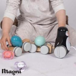 MAGNI, Træk pingvin med 2 æg