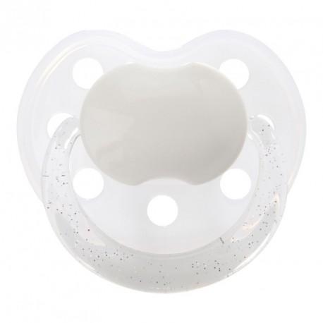BABY-NOVA 3-36,Sut med glimmer, Anatomisk - Silikone