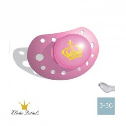 Elodie Details - 3-36,Petit Royal Pink,Physiologique - Silicone