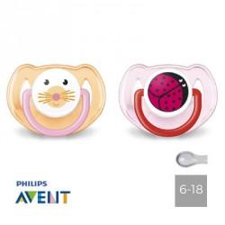 PHILIPS AVENT 6-18,Anatomique - Silicone