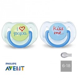 PHILIPS AVENT 6-18,Anatomique - Silicone