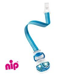 NIP Attache-sucette, Bleu