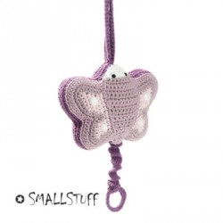 SMALLSTUFF - Mobile musical, Papillon - Crochet