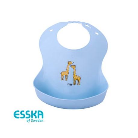 ESSKA - Bavoir, Girafe, Bleu