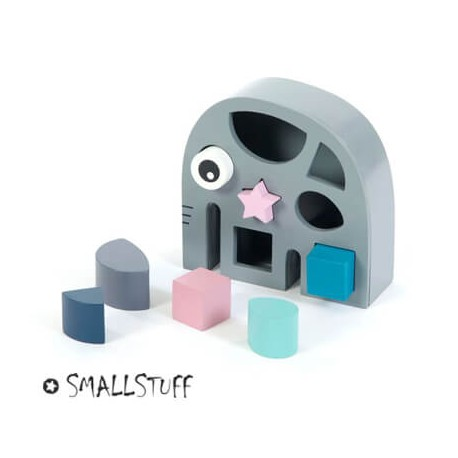 SMALLSTUFF - Éléphant à formes, Jouet, Éléphant