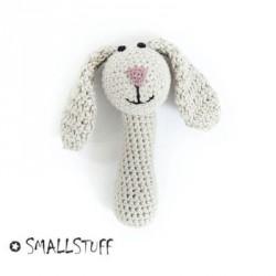 SMALLSTUFF - Maracas au crochet, Lapin, Nature