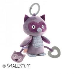 SMALLSTUFF - Jouet d'activités, Hibou, Violet