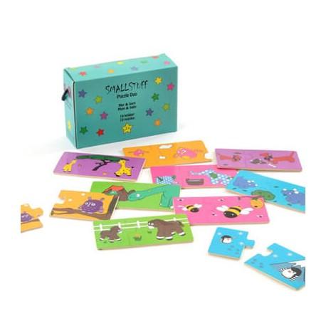 SMALLSTUFF - Puzzle Maman/Enfant, En bois