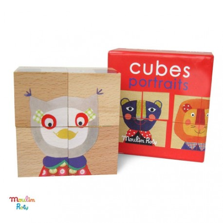 Puzzle cubes , Moulin Roty