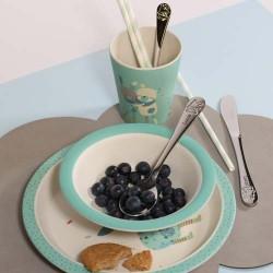 MOULIN ROTY, Ensemble de repas pour bébé, bleu clair