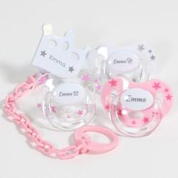 Coffret cadeau pour fille, Tétines de Maxibaby, 3-36 mois