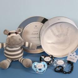 Coffret cadeau pour garçon, avec kit de plâtre, 3-36 mois