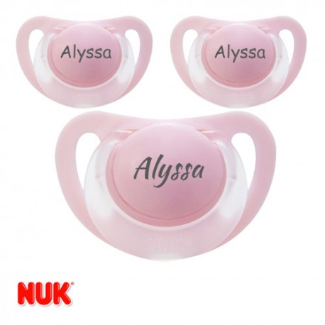 NUK STARLIGHT 0-6,Physiologique - Silicone