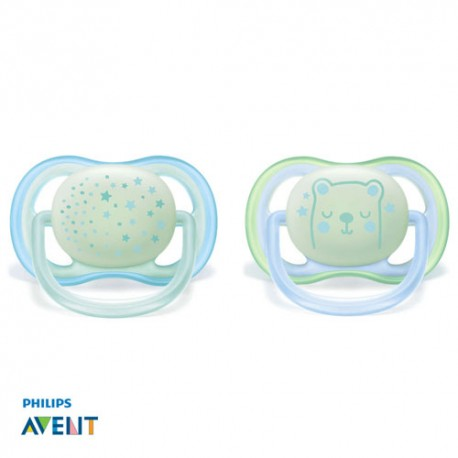 PHILIPS AVENT 0-6,Ultra Air Rose, Anatomique - Silicone