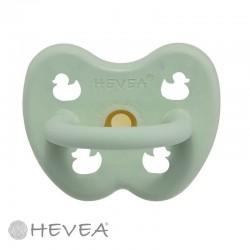 HEVEA, Ronde - Natuurlijk rubber, Eend - Mellow Mint / 0-3 maanden