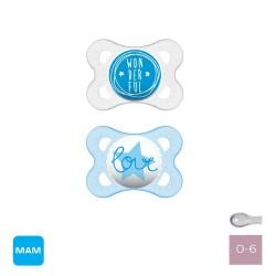 MAM original 0-6, Symmetrisch - Silicone