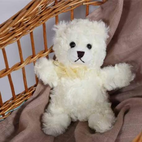 SMALLSTUFF - Teddybeer, Gebroken wit