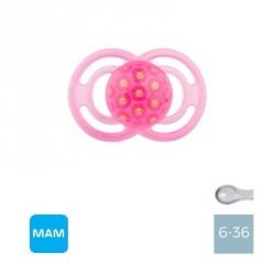 MAM PERFECT 6-36 M,Symmetrisk - Silikone