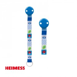 HEIMESS, Safety Clip, ECO-Tex, Blå ugle