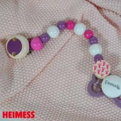 HEIMESS, Smokkekjede, Rosa/Lilla