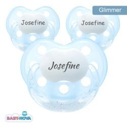 BABY-NOVA 3-36,Glimmer sut, Anatomisk - Silikone