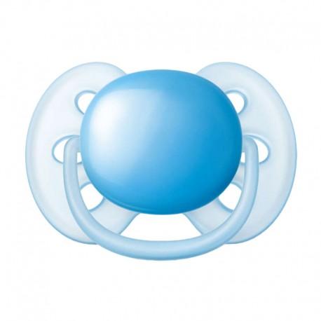 PHILIPS AVENT Ultra Soft, Str. 2. (6-18 mdr.), Symmetrisk - Silikon