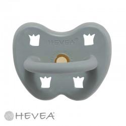 HEVEA, Rund - Naturgummi, Crown - Gorgeous Grey / 3-36 mån.