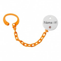 Dummy chain with name, Several colours available
